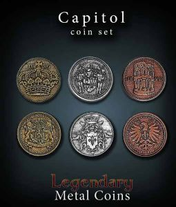 Legendary Metal Coins: Capitol Coin Set